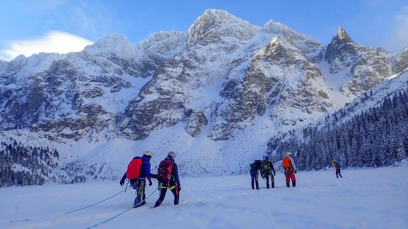 Zimowy kurs turystyki wysokogórskiej w Tatrach