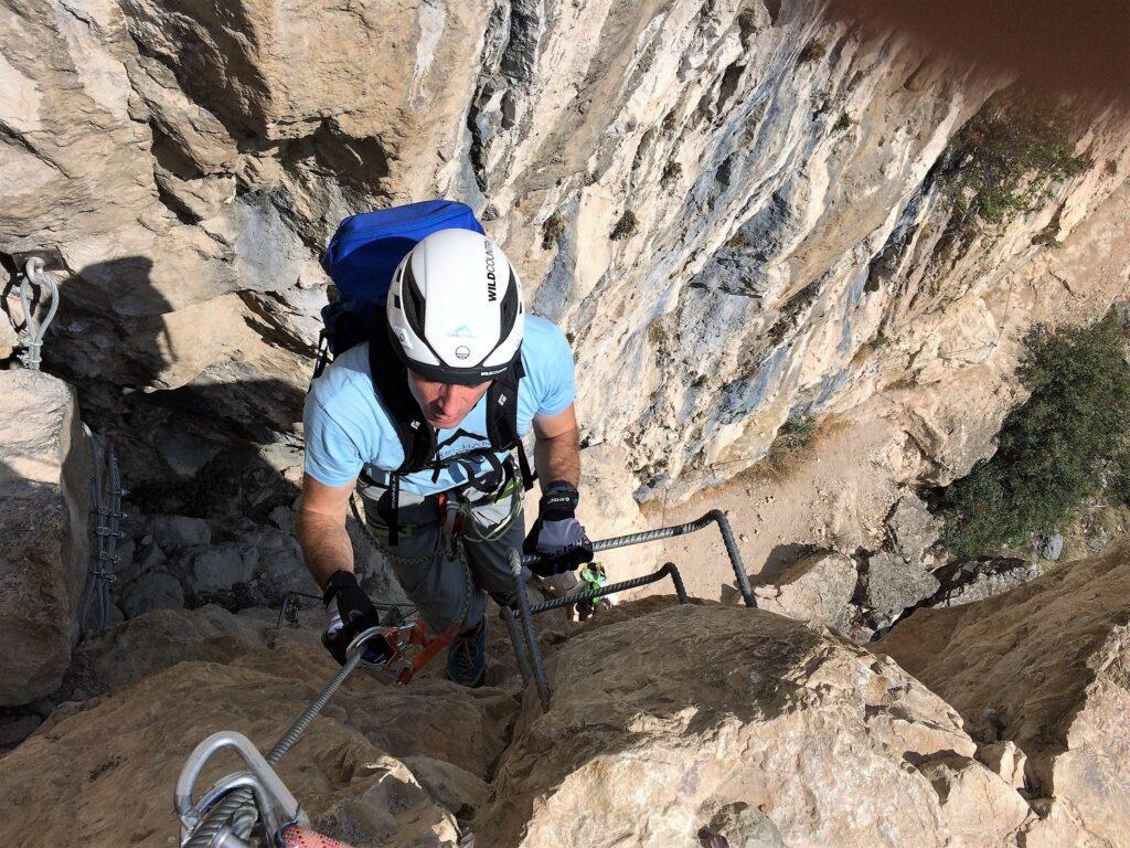 climb2change Ferrata Monte Albano Ottorino Marangoni