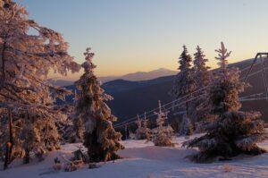 Babia Góra widziana z Hali Rysianka