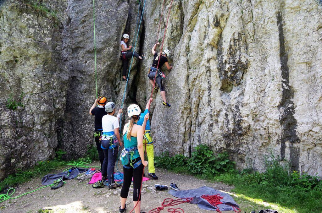 Climbing Day - Dzień wspinaczki w skałkach podkrakowskich