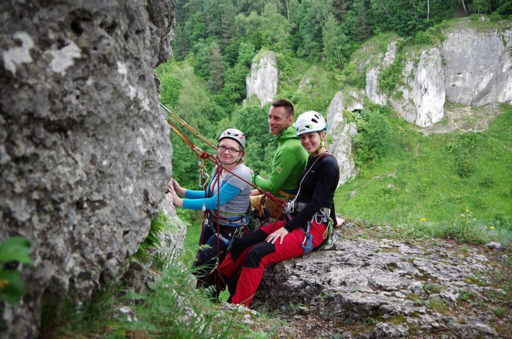 Climbing Day - Dzień wspinaczki w skałkach podkrakowskich pod okiem instruktora