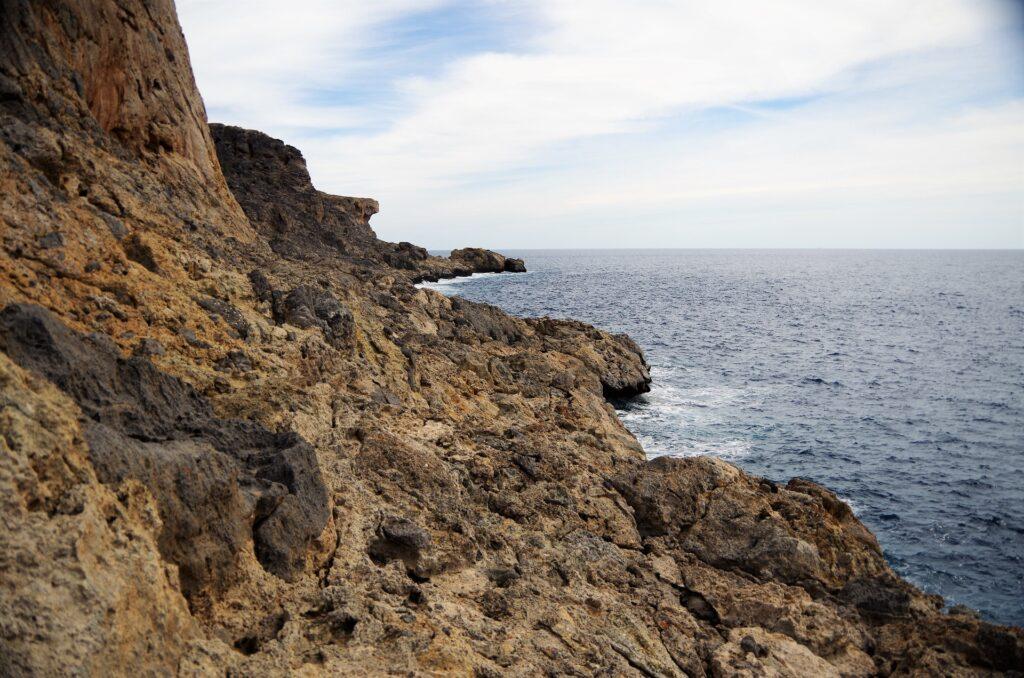 Klif Agios Ioanis na Krecie, wspinanie
