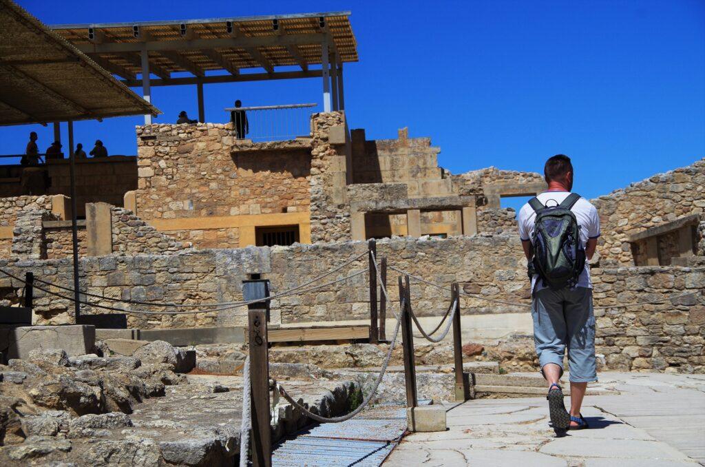 Ruiny zamku Knossos