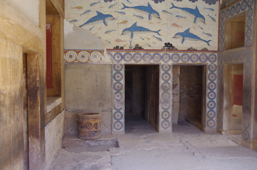 łazienka - zamek Knossos