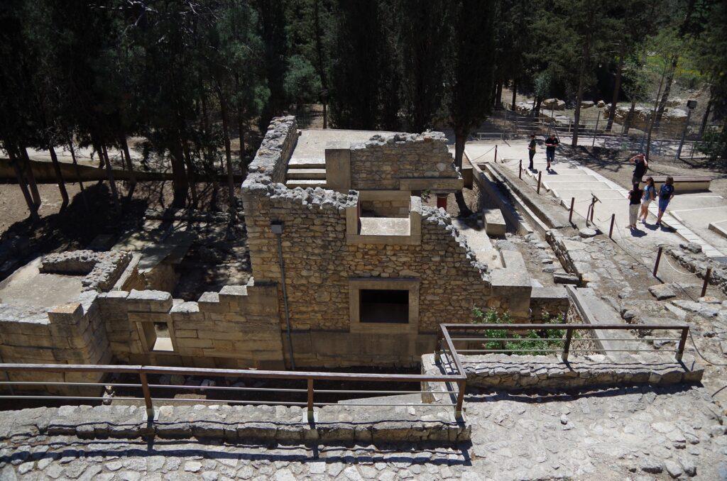 Ruiny Pałacu Knossos
