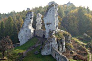 Zamek i skały w Ogrodzieńcu