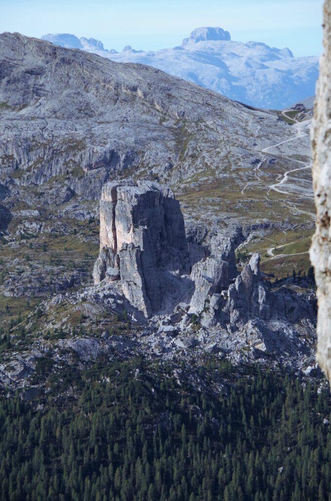 Wisoka na Cinque Torri z ferraty Giuseppe Di Olivieri (Punta Anna)