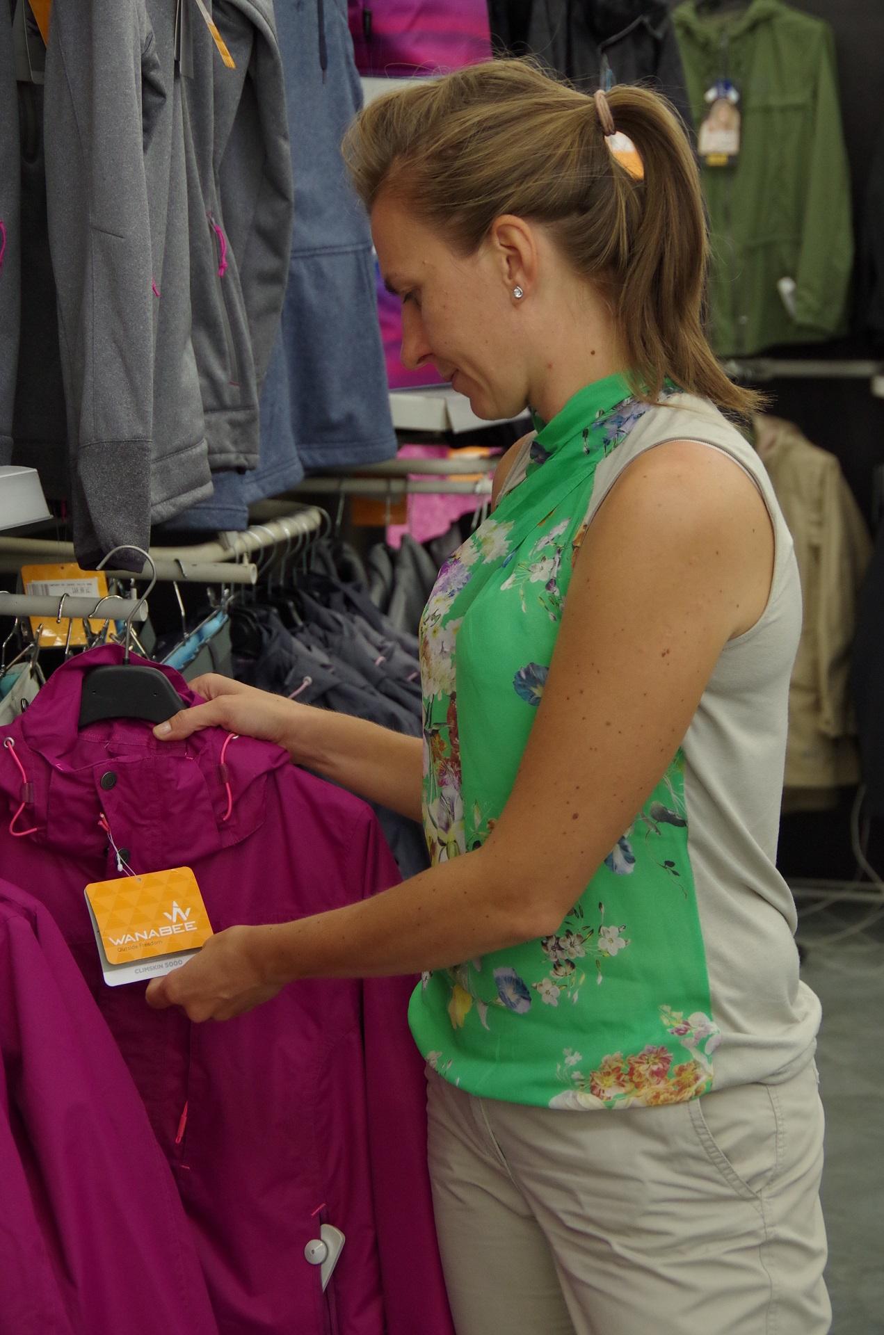 Pola w sklepie GoSport w Katowicach
