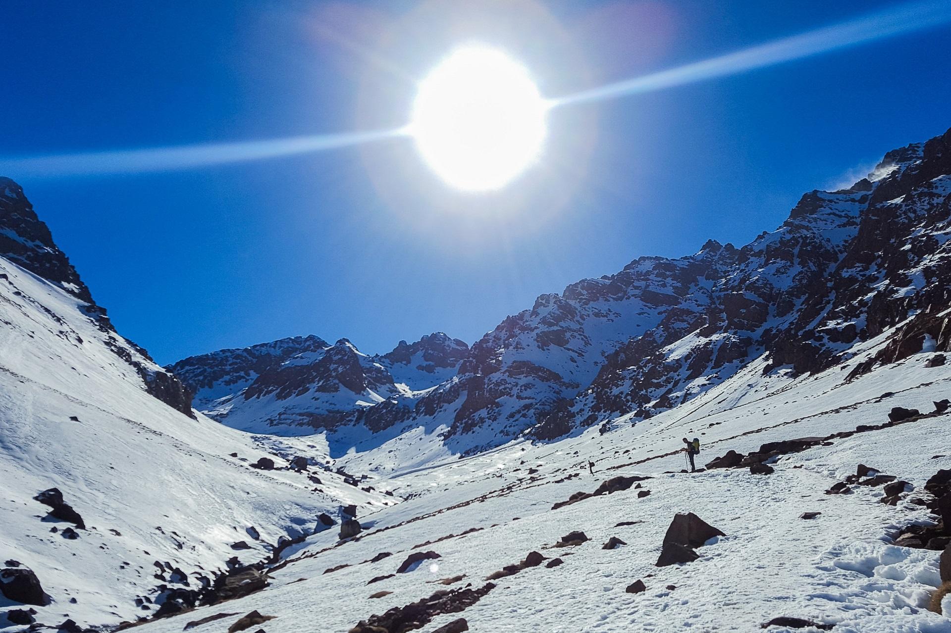 Wspaniałe góry Atlas