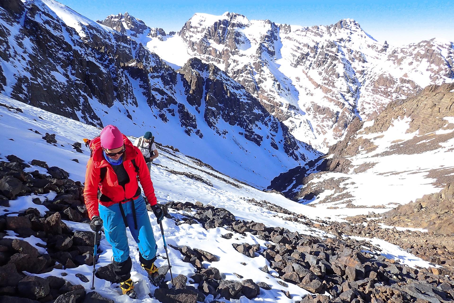 Wyjście na północną przełęcz