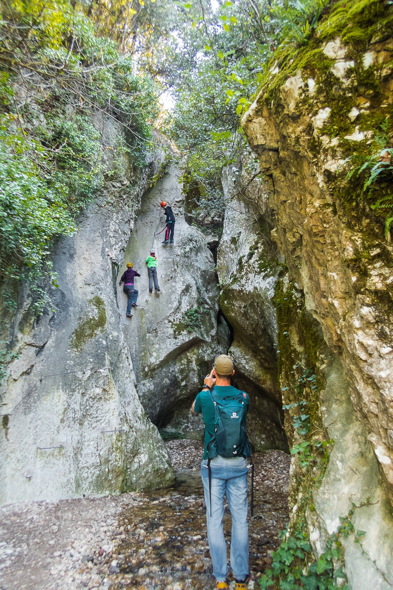 Start via ferraty Rio Salagoni