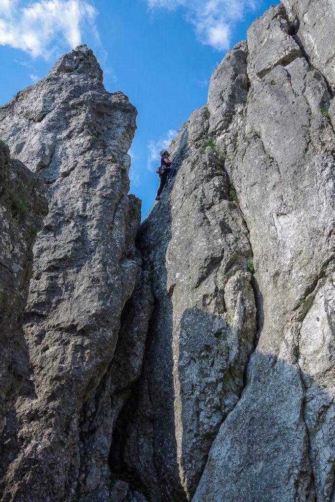 Wspinaczka w Dolinie Bolechowickiej