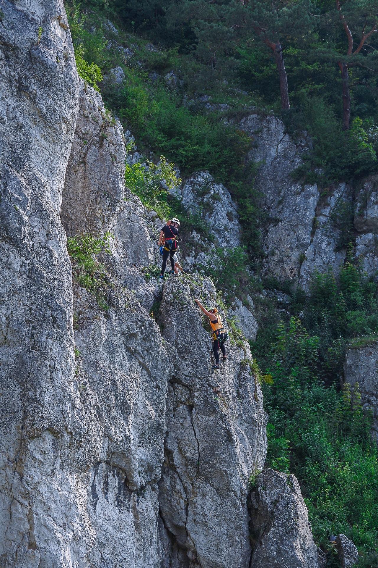 Każdy z nas ma wpływ na bezpieczeństwo w skałach.