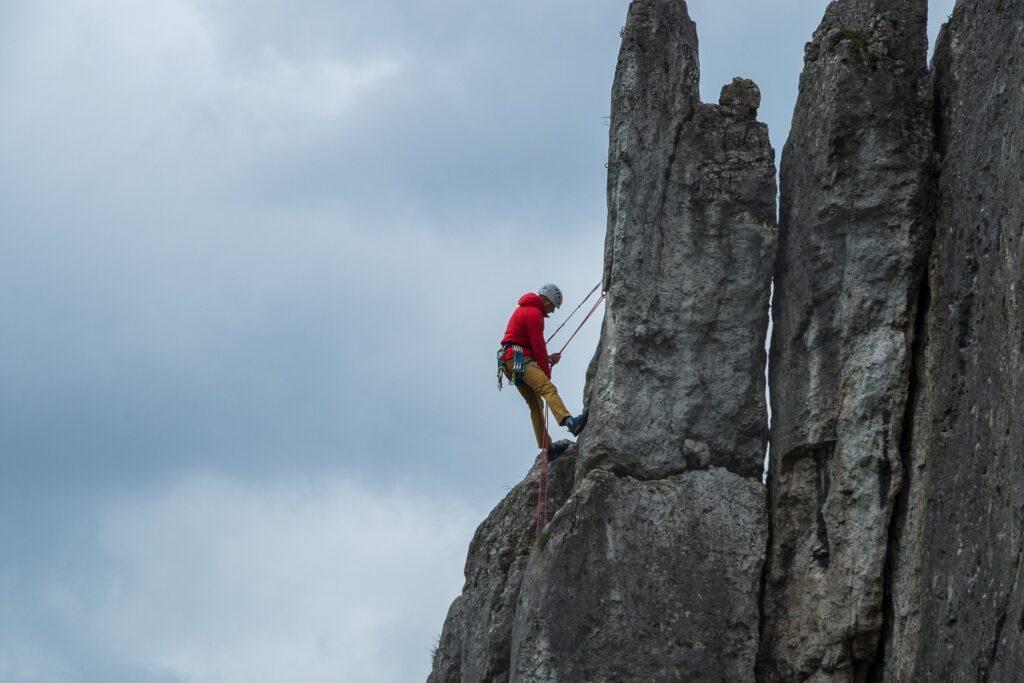 Skałki są doskonałym terenem do nauki wspinaczki. Zapewniają najwyższy z możliwych poziom bezpieczeństwa.