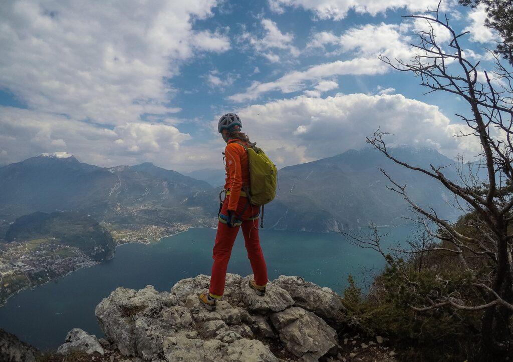 Na szczycie Cima Capo można podziwiać wspaniały krajobraz