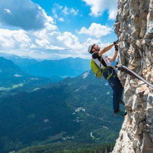 "Via ferrata Panorama Klettersteig ""Sisi"", Loser"