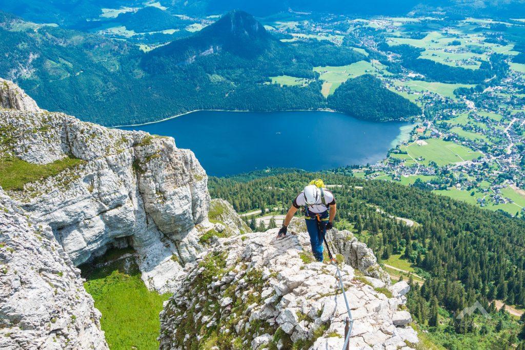 Malownicze wyjście z ferraty Panorama Klettersteig Sisi
