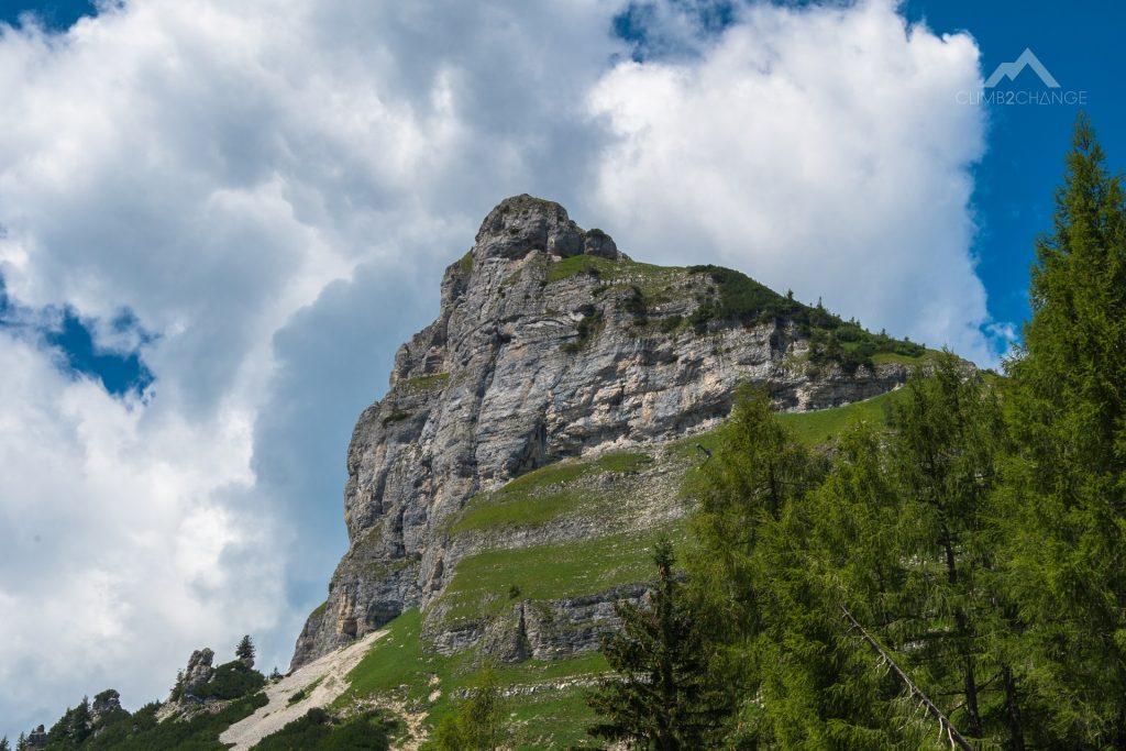 Widok na szczyt Loser, Góry Martwe