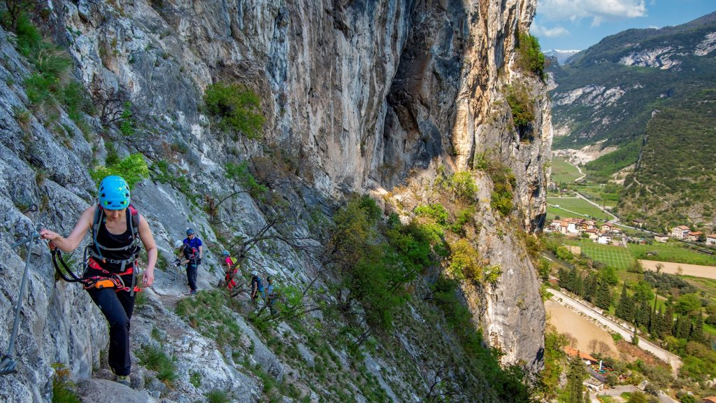 Via ferrata Colodri - wyjazd na via ferraty nad jezioro Garda