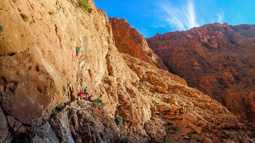Warsztaty wspinaczkowe w Maroko - Wąwóz Todra