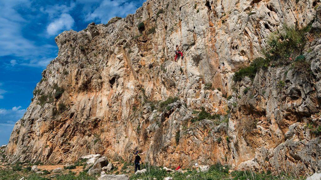 Warsztaty wspinaczkowe w na Sylyclii - San vito Lo Capo