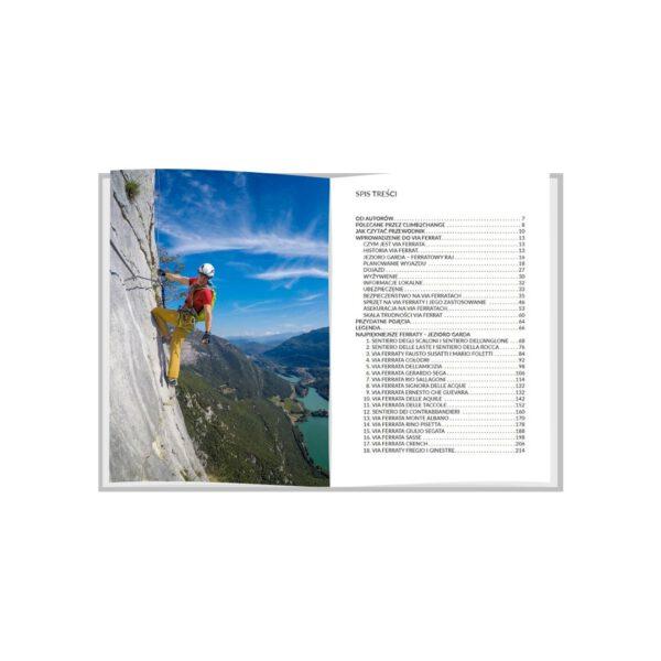 Najpiękniejsze ferraty - jezioro Garda- spis treści