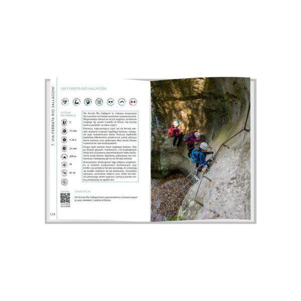 Najpiękniejsze ferraty - jezioro Garda- przykład rozdziału