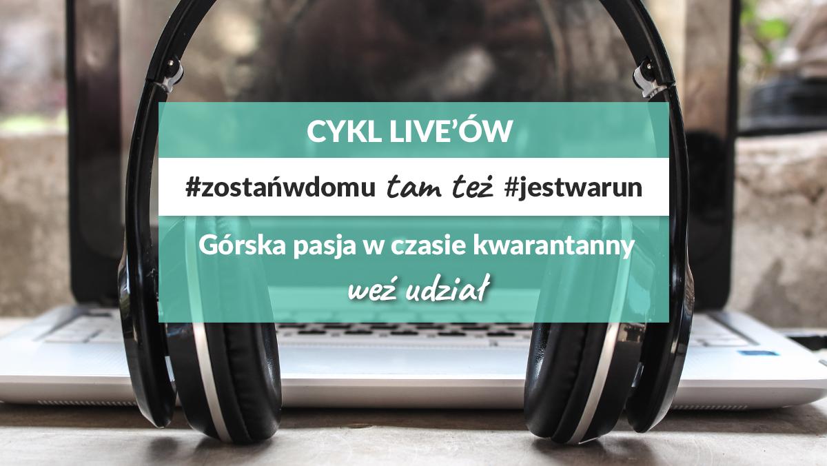 Audycja, podcast, live #jestwarun