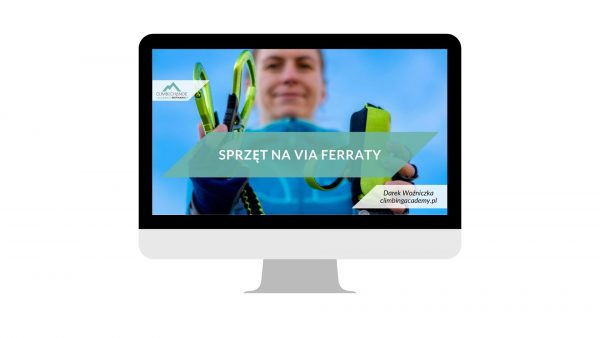 Sprzęt na via ferraty - szkolenie online