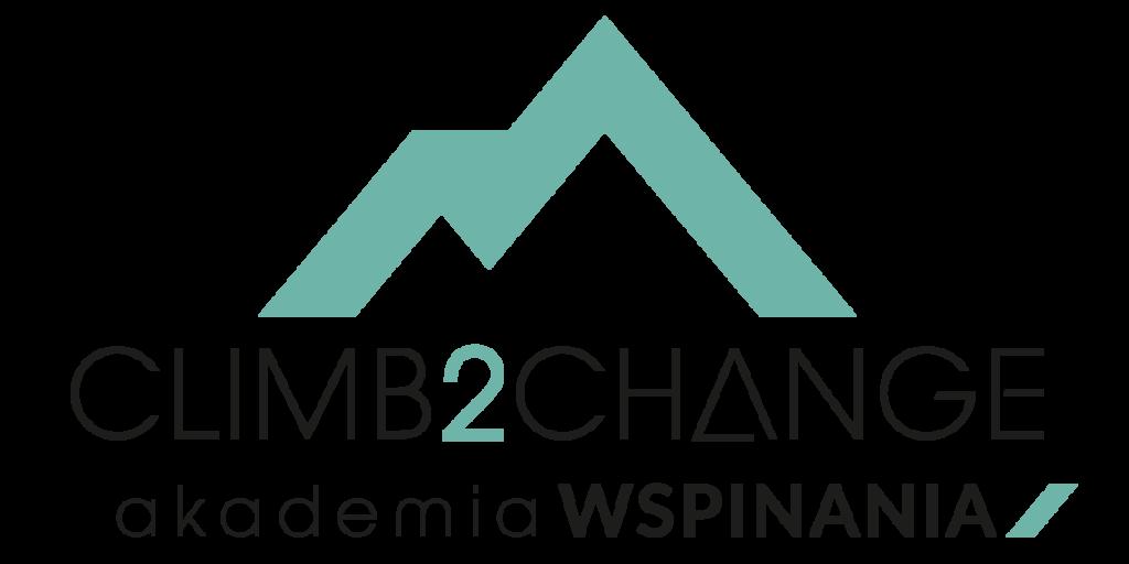 Logo Climb2change Akademia Wspinania