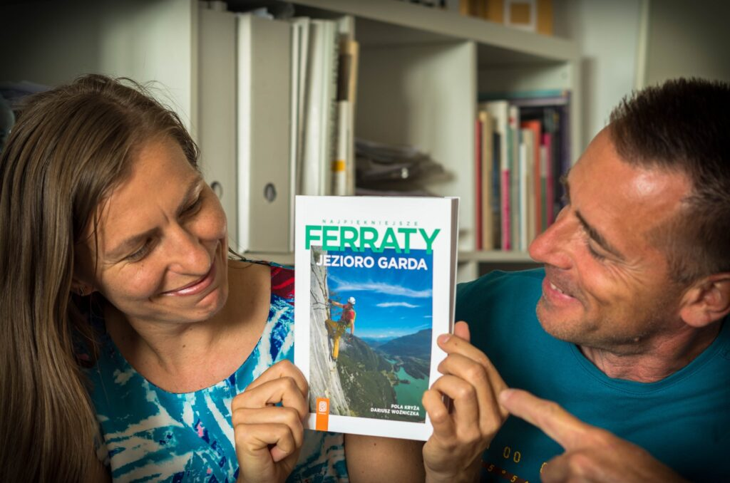 Autorzy przewodnika Najpiękniejsze ferraty - Jezioro Garda