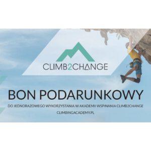 Bon podarunkowy do Akademii Wspinania climb2change