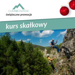 Szkolenie wspinaczkowe, kurs skałkowy, śnieg promocji w #climb2change