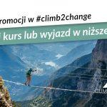 Śnieg promocji w #climb2change