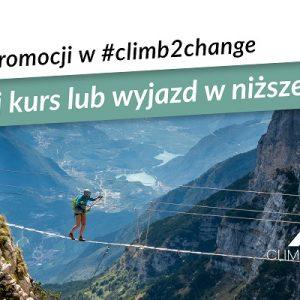 ŚNIEG PROMOCJI W #CLIMB2CHANGE 2020
