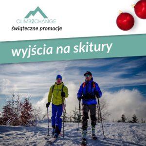 Szkolenie skiturowe, śnieg promocji w #climb2change
