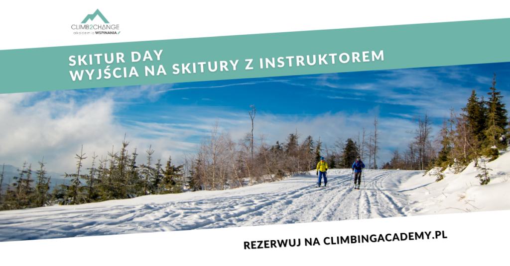 Skitur day - Wyjście na skitury w Beskidy ze szkoleniem
