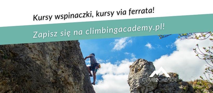 Kursy wspinaczki, kursy via ferrata climb2change akademia wspinania