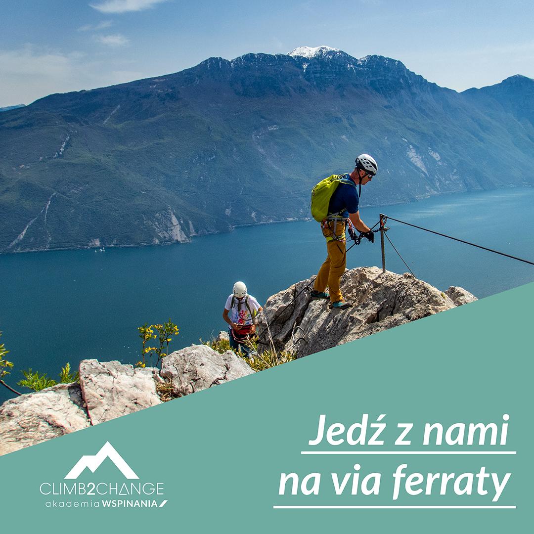 Zarezerwuj wyjazd na via ferraty z climb2change