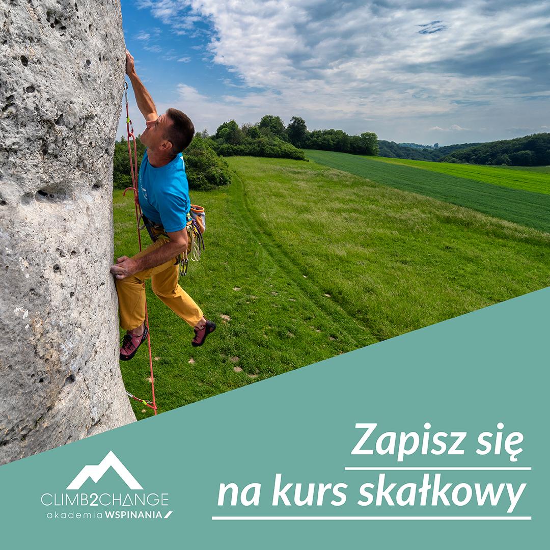 Zapisz się na kurs skałkowy do Akademii Wspinania climb2change