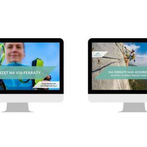 Zestaw przewodnik Via ferraty jezioro Garda, webinar i szkolenie
