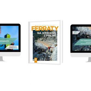 Zestaw przewodnik Via ferraty na weekend, webinar i szkolenie